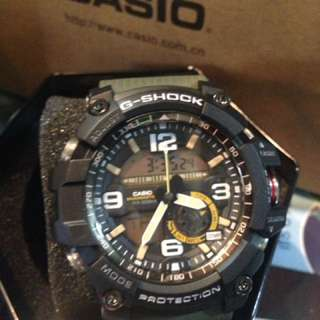 OEM Casio Green Mudmaster Series