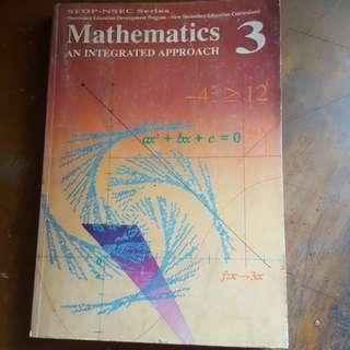 Mathematics, An Integrated Approach 3