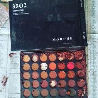 New Original Morphe 3502 Platte