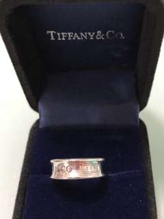 Authentic Tiffany & Co 1837 Band Ring
