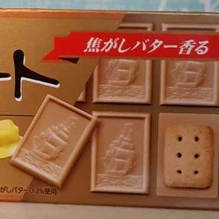 現貨 北日本帆船巧克力餅乾 bourbon奶油焦糖口味 布如蒙巧克力