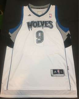 NBA Adidas Minnesota Timberwolves No.9 Ricky Rubio Jersey
