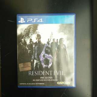 Game PS4 Resident Evil 6