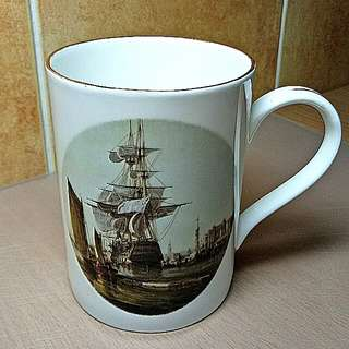Clipper Mug ( Fine Bone China) Made In England.