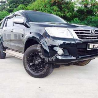 2013 Toyota Hilux 2.5 (A) G Spec Very Tiptop Condition