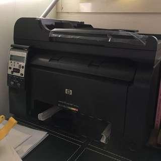 🚚 HP LaserJet M175nw彩色雷射網路無線複合機