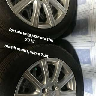 Jual velg std jazz r16 th.2013