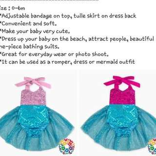 MERMAID OUTFIT DRESS S