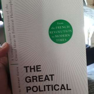 The Great Political Theories edited by Michael Curtis