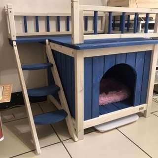小型犬貓寵物實木窩