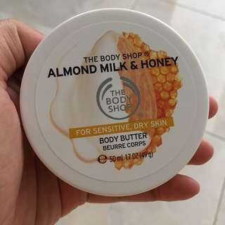 Almond Milk Honey Body Butter by The Body Shop