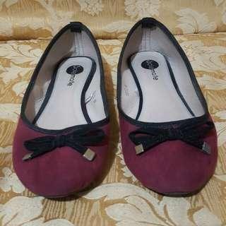 Faux Suede Doll Shoes