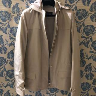 Loro piana jacket protect winter and storm size 38