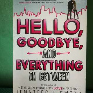 Hello, goodbye, and everything in between