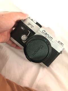 CANON FT QUICK LOAD FILM CAMERA