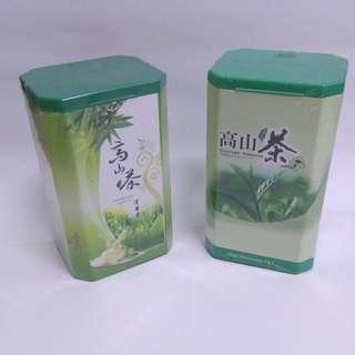 【親親小舖~免運】高山茶 茶葉 禮盒 阿里山茶 沖泡飲品 2罐合售