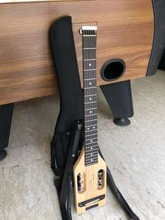 FOR SALE- TRAVELLER GUITAR ULTRA LIGHT WITH BAG/LEG REST/NEW STRINGS- BEST OFFER BY THE WEEKEND TAKES IT!