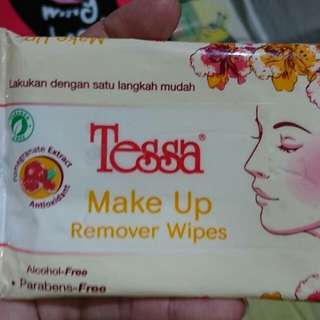 TESSA MAKE UP Remover Wipes