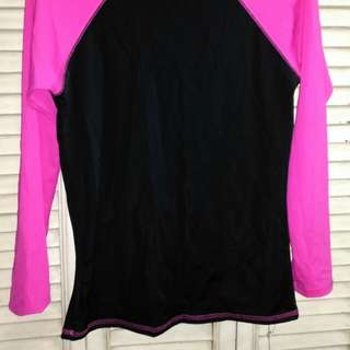 Discounted New w/ tag Ladies Spandex Rashguard Longsleeves Top for swimming, snorkeling, scuba diving etc