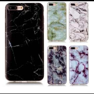 Iphone 8 tpu case. Marble like.