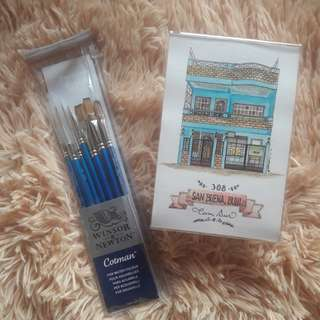 Winsor & Newton 7pc Brush set