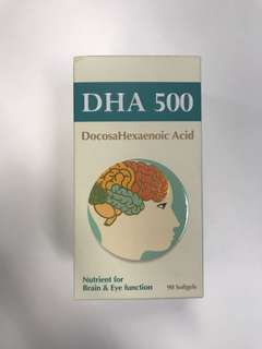 BRAND NEW NATURES ESSENTIALS DHA 500  VITAMIN