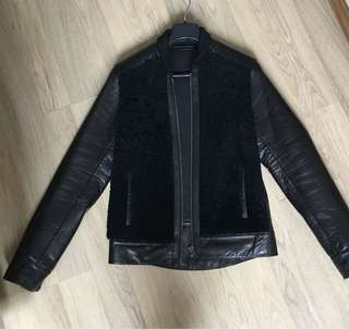 Givenchy Men's Leather and Shearling jacket