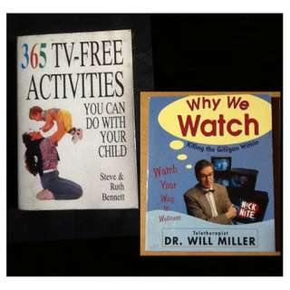 365 TV-FREE ACTIVITIES Steve & Ruth Bennett plus WHY WE WATCH Dr Will Miller