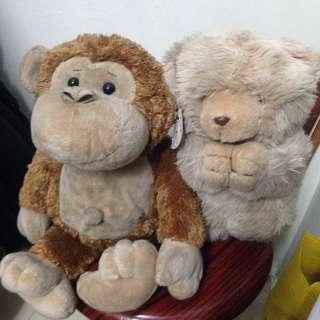 Combo: Stuffed Toys
