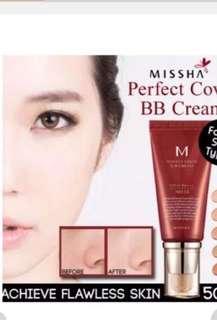 Missha perfect cover B.B. cream