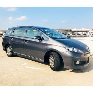 Toyota Wish 1.8A [Brand New!!!]