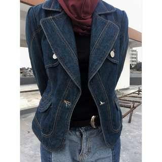 Vintage Jacket Blazer Denim Coat Jeans Rare