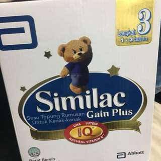 Similac Gain Plus Step 3