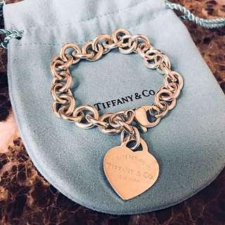 TIFFANY bracelet ❤️經典心形手鍊