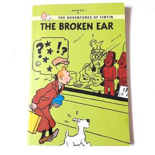 The Broken Ear - The Adventures of Tintin