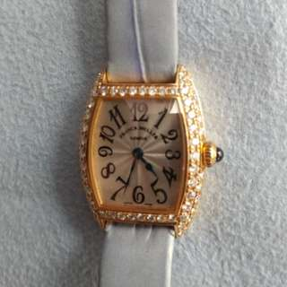 Franck Muller Lady Rose Gold Quartz Diamond
