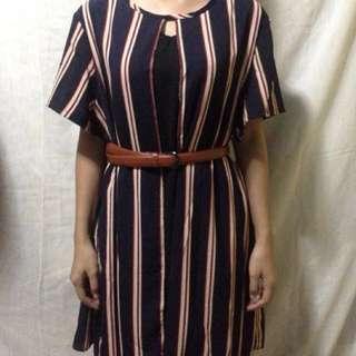 Bangkok- Stripes Dress