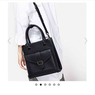 Charles & Keith Front Flap Tote