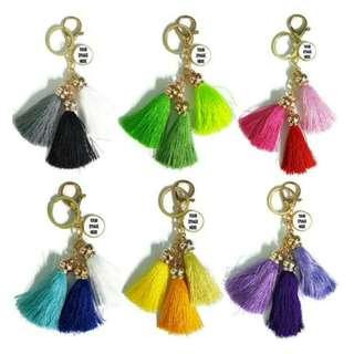 Customized Tassel Keychains