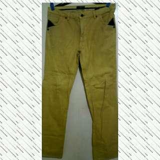 Truefitt Memo Mustard Color Jeans