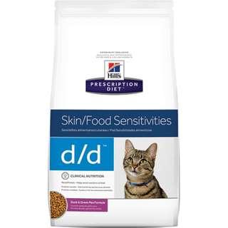 🚚 Hills 貓 d/d dd 3.5磅 鴨肉及碗豆配方 希爾斯 希爾思 處方食品 處方飼料 5351