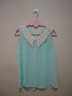 Pearl Green Pastel Top