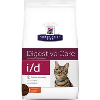 🚚 Hills 貓 i/d id 4磅 消化系統護理 希爾斯 希爾思 處方食品 處方飼料 貓用 4629