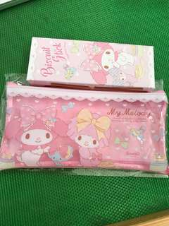 My Melody Pouch will biscuit stick