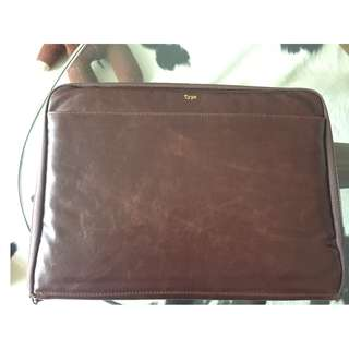 Computer leather case