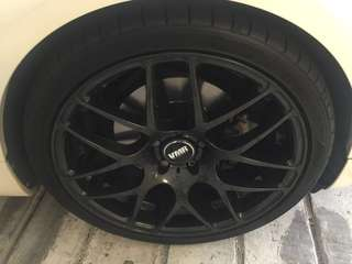 "Vmr 19"" Rims for Audi"