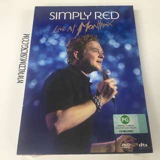 [DVD] Simply Red - Live At Montreux