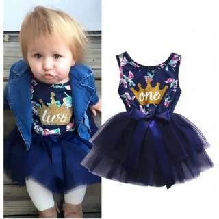 Dress tutu baby