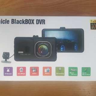 Car DVR dual cam Camera Camcorder Dual Lens Dash Cam 1080P Full HD G-sensor Night Vision
