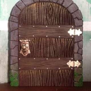 Alice in Wonderland miniature door